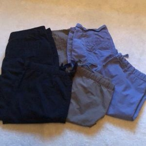 Bundle of 3 Loft khaki women's capris size 6
